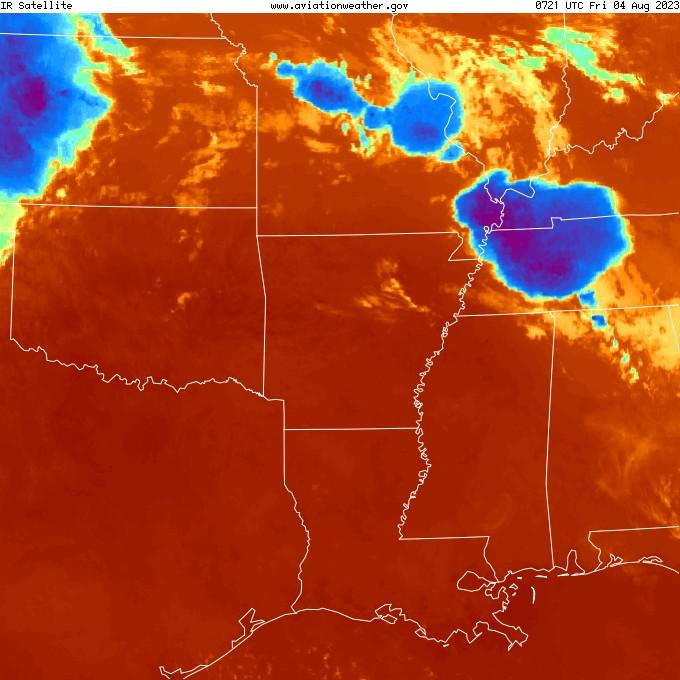 Regional Infrared Satellite