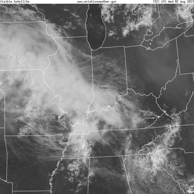 regional radar view