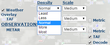 Density Options