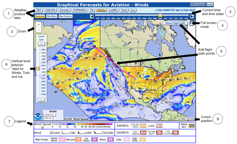 Graphical Forecasts for Aviation Overview
