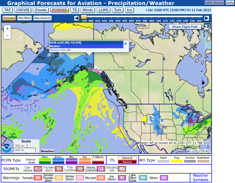What Does This Symbol Indicate On A Weather Map.Awc Graphical Forecasts For Aviation